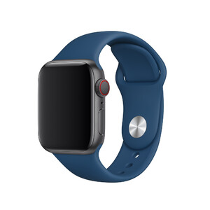 Купить Ремешок Apple Sport Band S/M & M/L Blue Horizon (MTPC2) для Apple Watch 40mm/38mm Series 1/2/3/4