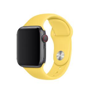 Купить Ремешок Apple Sport Band S/M & M/L Canary Yellow (MV6A2) для Apple Watch 40mm/38mm Series 1/2/3/4