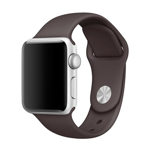 Купить Ремешок Apple 38mm Cocoa Sport Band (MNJ12) S/M&M/L для Apple Watch Series 1/2