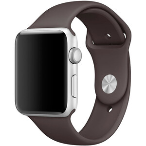 Купить Ремешок Apple 42mm Cocoa Sport Band (MNJA2) S/M&M/L для Apple Watch Series 1/2/3