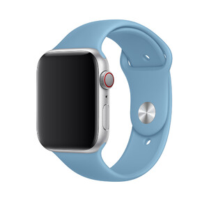Купить Ремешок Apple Sport Band S/M & M/L Cornflower (MV6D2) для Apple Watch 44mm/42mm Series 1/2/3/4