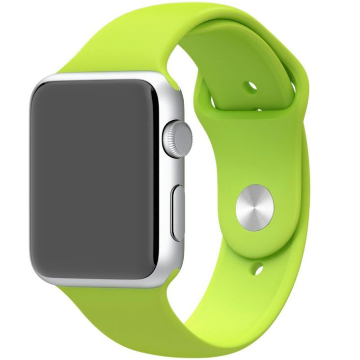 Ремешок Apple 42mm Green Sport Band (MJ4U2) S/M&M/L для Apple Watch Series 1/2/3