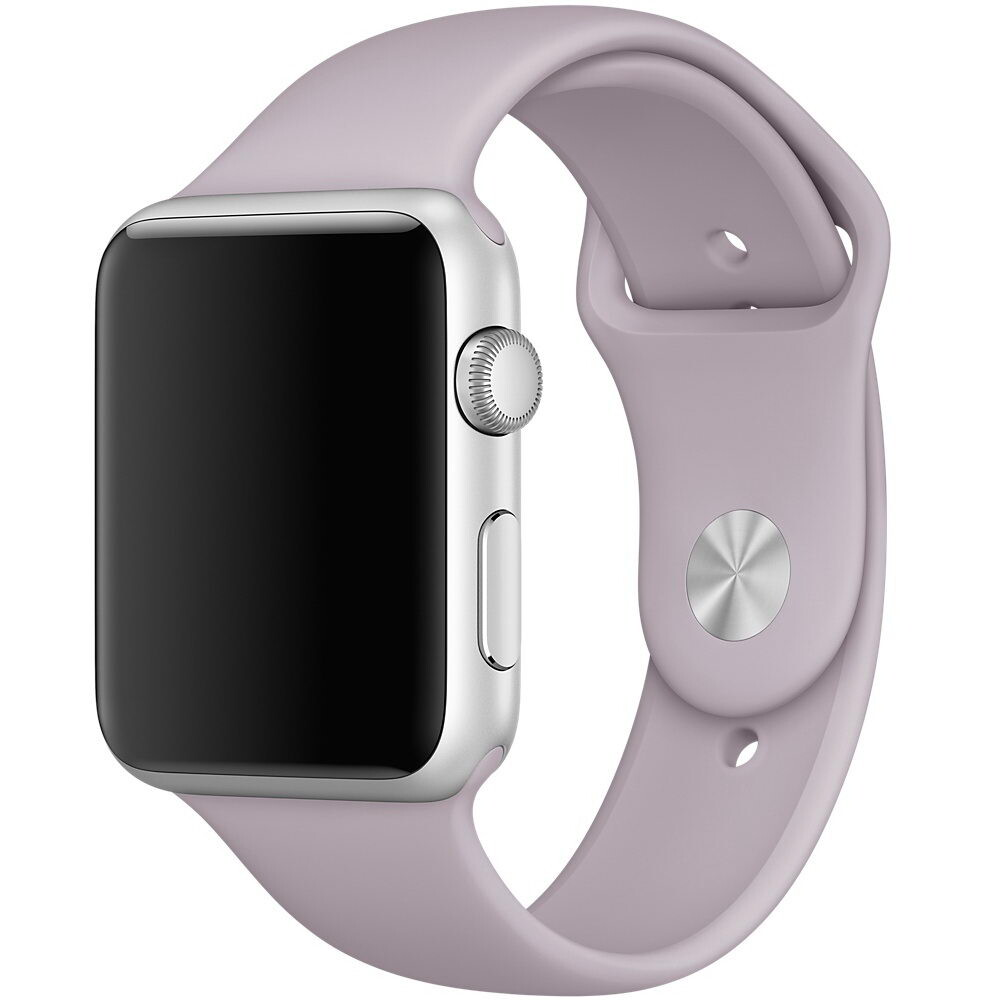 Ремешок Apple 42mm Lavender Sport Band (MLL22) S/M&M/L для Apple Watch Series 1/2/3
