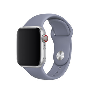 Купить Ремешок Apple Sport Band S/M & M/L Lavender Gray (MTP92) для Apple Watch 40mm/38mm Series 1/2/3/4