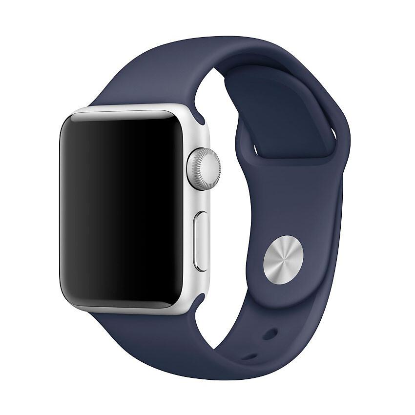 Ремешок Apple 38mm Midnight Blue Sport Band (MLKX2) S/M&M/L для Apple Watch Series 1/2