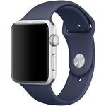 Ремешок Apple 42mm Midnight Blue Sport Band S/M&M/L (MLL02) для Apple Watch Series 1/2/3