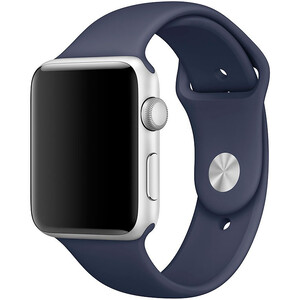 Купить Ремешок Apple 42mm Midnight Blue Sport Band (MLL02) S/M&M/L для Apple Watch Series 1/2