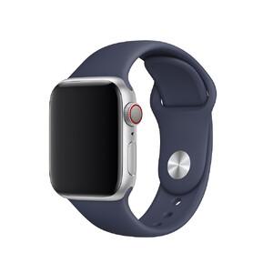 Купить Ремешок Apple Sport Band S/M & M/L Midnight Blue (MTPH2) для Apple Watch 40mm/38mm Series 5/4/3/2/1