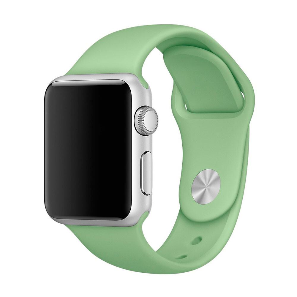 Ремешок Apple 38mm Mint Sport Band (MM7Y2) S/M&M/L для Apple Watch Series 1/2/3