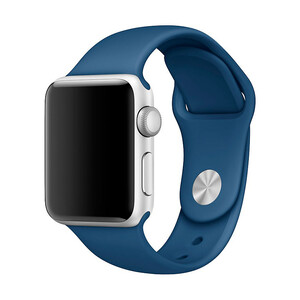 Купить Ремешок Apple 38mm Ocean Blue Sport Band (MNJ22) S/M&M/L для Apple Watch Series 1/2