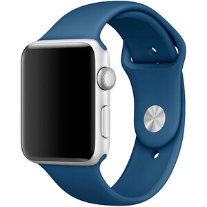 Купить Ремешок Apple 42mm Ocean Blue Sport Band (MNJC2) S/M&M/L для Apple Watch Series 1/2/3