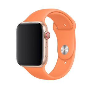 Купить Ремешок Apple Sport Band S/M & M/L Papaya (MV772) для Apple Watch 44mm/42mm Series 5/4/3/2/1