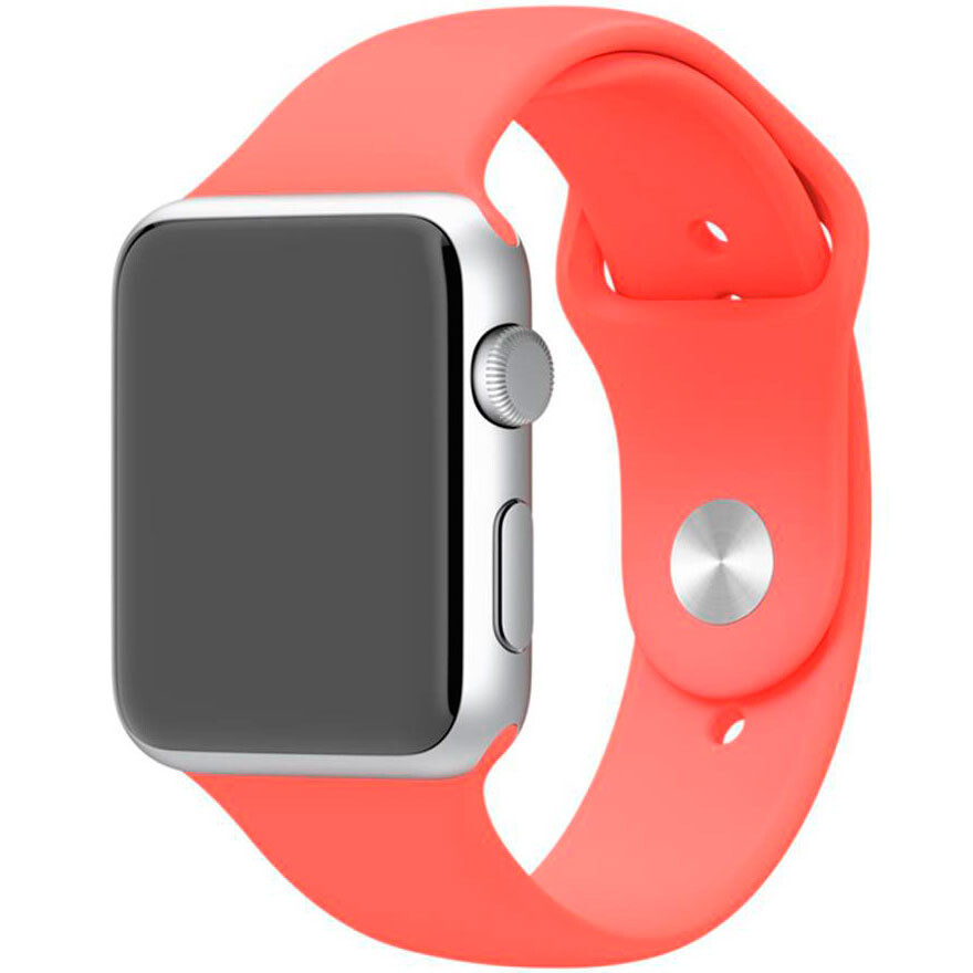 Ремешок Apple 42mm Pink Sport Band (MJ4T2) S/M&M/L для Apple Watch Series 1/2