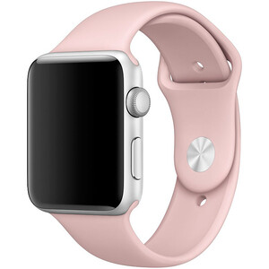 Купить Ремешок Apple 42mm Pink Sand Sport Band (MNJ92) S/M&M/L для Apple Watch Series 1/2/3