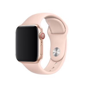 Купить Ремешок Apple Sport Band S/M & M/L Pink Sand (MTP72) для Apple Watch 40mm/38mm Series 1/2/3/4
