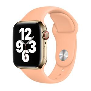 Купить Ремешок Apple Sport Band S | M & M | L Cantaloupe (MJK33) для Apple Watch 40mm | 38mm Series SE | 6 | 5 | 4 | 3 | 2 | 1