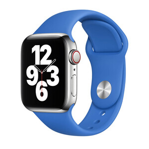 Купить Ремешок Apple Sport Band S | M & M | L Capri Blue (MJK53) для Apple Watch 44mm | 42mm Series SE | 6 | 5 | 4 | 3 | 2 | 1