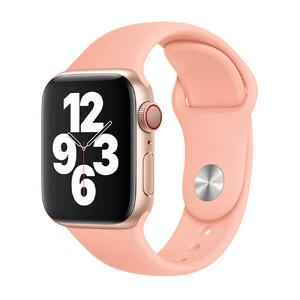 Купить Ремешок Apple Sport Band S | M & M | L Grapefruit (MXNU2) для Apple Watch 40mm | 38mm Series SE | 6 | 5 | 4 | 3 | 2 | 1