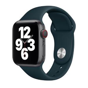 Купить Ремешок Apple Sport Band S | M & M | L Mallard Green (MJK73) для Apple Watch 44mm | 42mm Series SE | 6 | 5 | 4 | 3 | 2 | 1