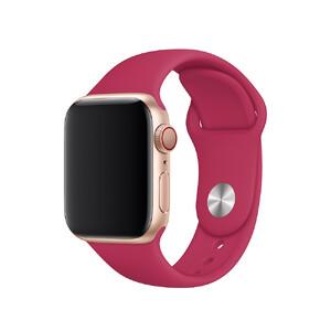 Купить Ремешок Apple Sport Band S/M & M/L Pomegranate (MWUK2) для Apple Watch 40mm/38mm Series 5/4/3/2/1