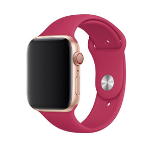 Купить Ремешок Apple Sport Band S/M & M/L Pomegranate (MWUN2) для Apple Watch 44mm/42mm Series 5/4/3/2/1