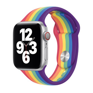 Купить Ремешок Apple Sport Band S | M & M | L Pride (MY1Y2) для Apple Watch 44mm | 42mm Series SE | 6 | 5 | 4 | 3 | 2 | 1
