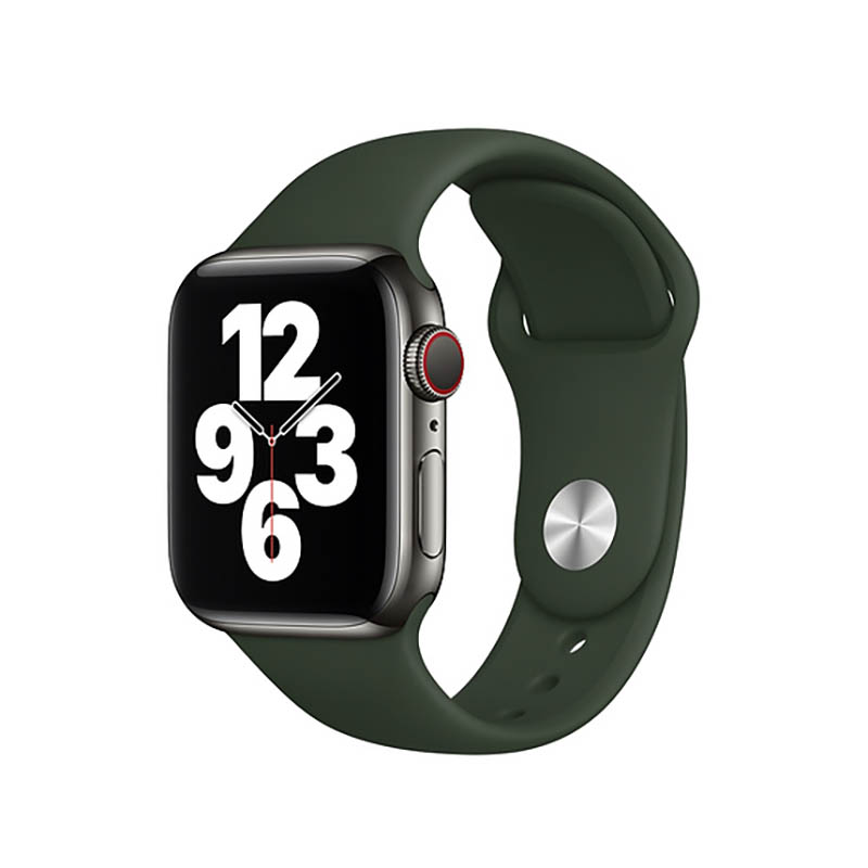 Купить Ремешок Apple Sport Band S | M & M | L Cyprus Green (MG433) для Apple Watch 44mm | 42mm Series SE | 6 | 5 | 4 | 3 | 2 | 1