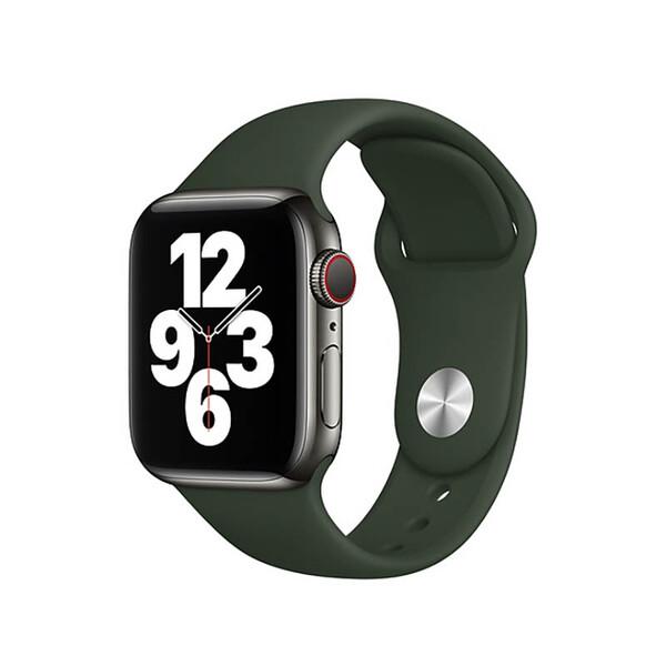 Ремешок Apple Sport Band S   M & M   L Cyprus Green (MG433) для Apple Watch 44mm   42mm Series SE   6   5   4   3   2   1