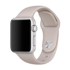 Купить Ремешок Apple 38mm Stone Sport Band (MLKW2) S/M&M/L для Apple Watch Series 1/2/3
