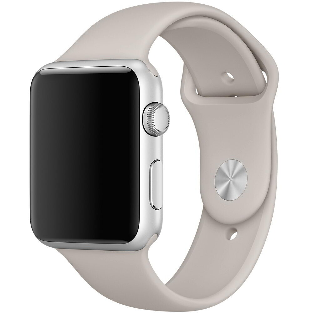 Ремешок Apple 42mm Stone Sport Band (MLKY2) S/M&M/L для Apple Watch Series 1/2/3