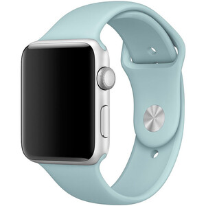 Купить Ремешок Apple 42mm Turquoise Sport Band (MLDT2) S/M&M/L для Apple Watch Series 1/2/3