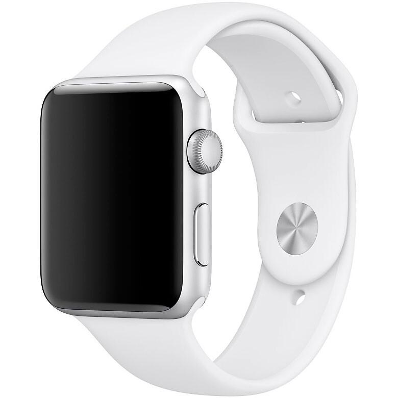 Ремешок Apple 42mm White Sport Band (MJ4M2) S/M&M/L для Apple Watch Series 1/2/3