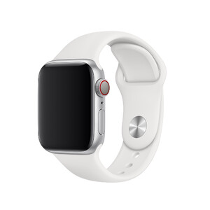Купить Ремешок Apple Sport Band S/M & M/L White (MTP52) для Apple Watch 40mm/38mm Series 1/2/3/4