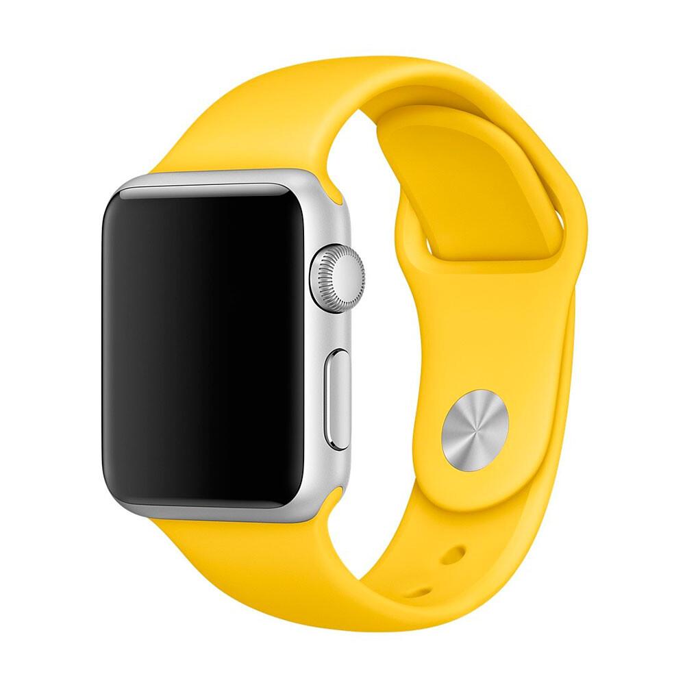 Ремешок Apple 38mm Yellow Sport Band (MM7X2) S/M&M/L для Apple Watch Series 1/2