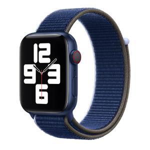 Купить Ремешок Apple Sport Loop Abyss (MJG23) для Apple Watch 44mm | 42mm Series SE | 6 | 5 | 4 | 3 | 2 | 1