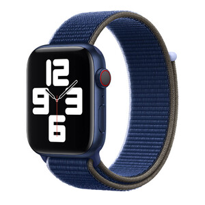 Купить Ремешок Apple Sport Loop Abyss (MJFV3) для Apple Watch 40mm | 38mm Series SE | 6 | 5 | 4 | 3 | 2 | 1
