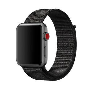Купить Ремешок Apple Sport Loop Black (MQQ72/MQW72) для Apple Watch 42mm Series 1/2/3