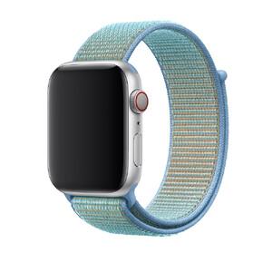 Купить Ремешок Apple Sport Loop Cornflower (MV9H2) для Apple Watch 42mm/44mm Series 1/2/3/4