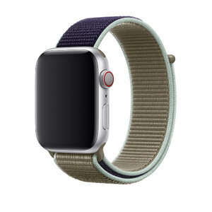 Купить Ремешок Apple Sport Loop Khaki (MWU12) для Apple Watch 42mm/44mm Series 5/4/3/2/1