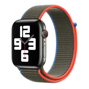 Купить Ремешок Apple Sport Loop Olive (MJG13) для Apple Watch 44mm | 42mm Series SE | 6 | 5 | 4 | 3 | 2 | 1