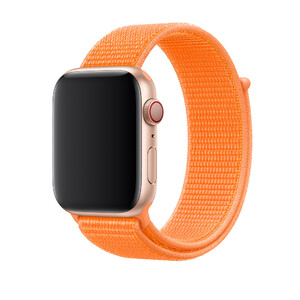 Купить Ремешок Apple Sport Loop Papaya (MV6H2) для Apple Watch 38mm/40mm Series 1/2/3/4
