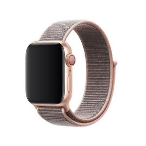 Купить Ремешок Apple Sport Loop Pink Sand (MQW02/MTLU2) для Apple Watch 38mm/40mm Series 5/4/3/2/1