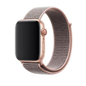 Купить Ремешок Apple Sport Loop Pink Sand (MQW92/MTM92) для Apple Watch 42mm/44mm Series 1/2/3/4