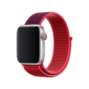 Купить Ремешок Apple Sport Loop Product RED (MXHV2) для Apple Watch 38mm/40mm Series 5/4/3/2/1
