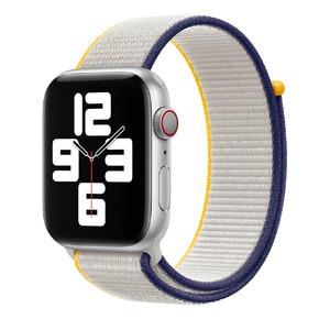 Купить Ремешок Apple Sport Loop Sea Salt (MJFY3) для Apple Watch 44mm | 42mm Series SE | 6 | 5 | 4 | 3 | 2 | 1