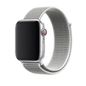 Купить Ремешок Apple Sport Loop Seashell (MQW82/MTMA2) для Apple Watch 42mm/44mm Series 1/2/3/4