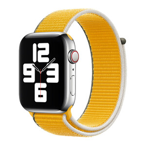 Купить Ремешок Apple Sport Loop Sunflower (MJFT3) для Apple Watch 40mm | 38mm Series SE | 6 | 5 | 4 | 3 | 2 | 1
