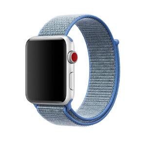 Купить Ремешок Apple Sport Loop Tahoe Blue (MRJ12) для Apple Watch 42mm/44mm Series 1/2/3/4