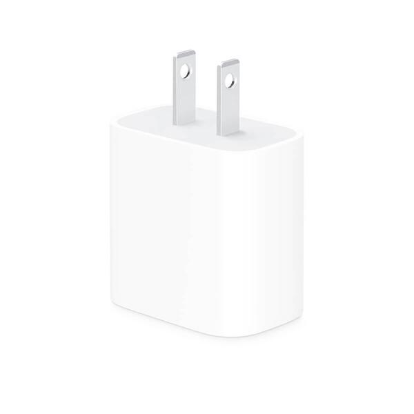 Сетевое зарядное устройство Apple USB-C Power Adapter 20W (MHJA3) для iPhone | iPad (US) + EU адаптер