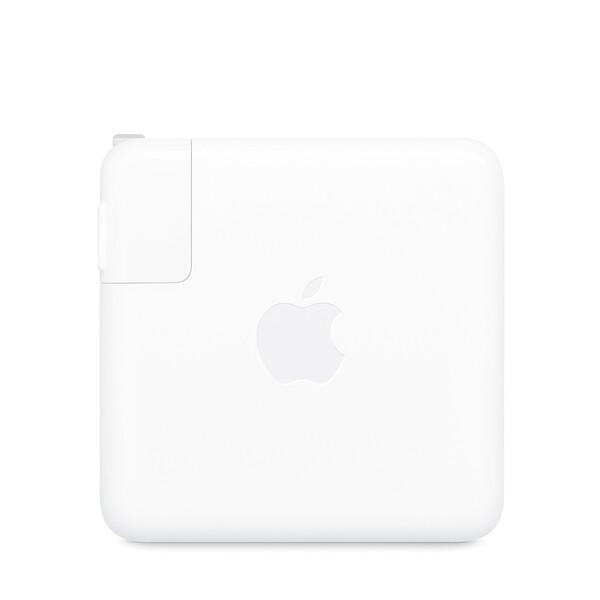 Сетевое зарядное устройство Apple USB-C Power Adapter 96W (MX0J2) для MacBook + EU адаптер